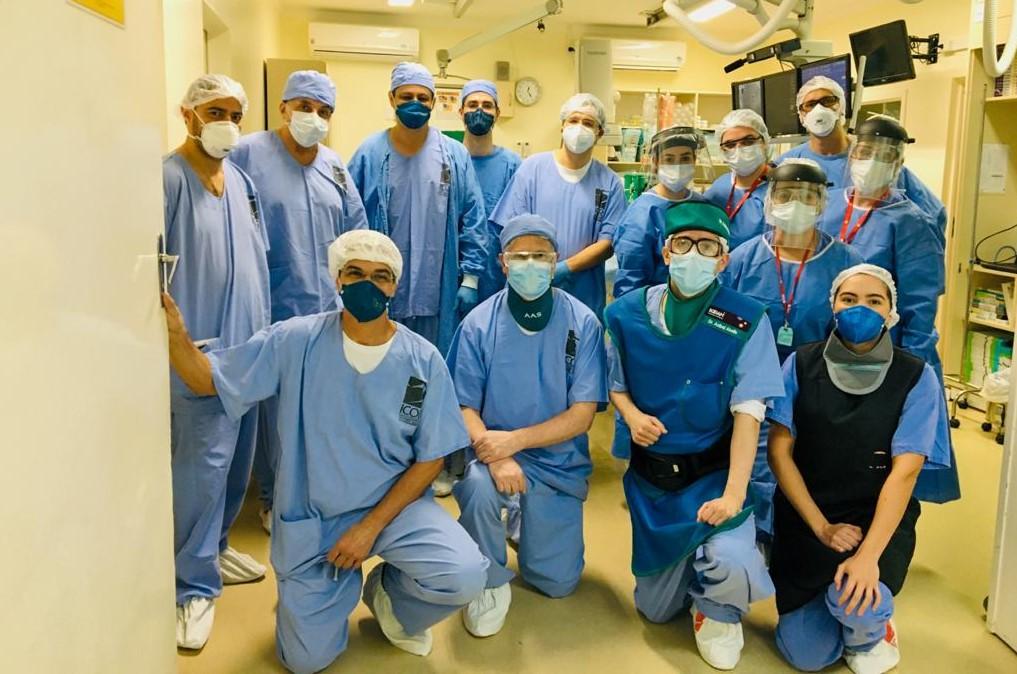 """ICOR faz o primeiro procedimento de """"MitraClip"""" em Santa Maria e o segundo no interior do Estado do RS"""