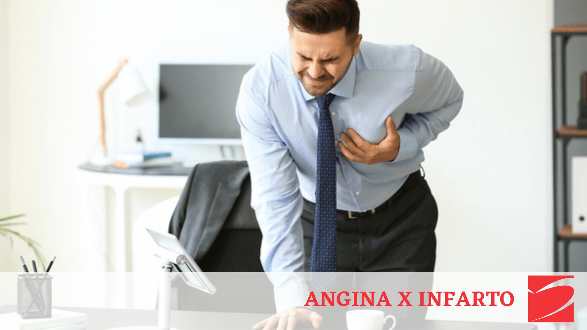 Diferença entre Angina e Infarto