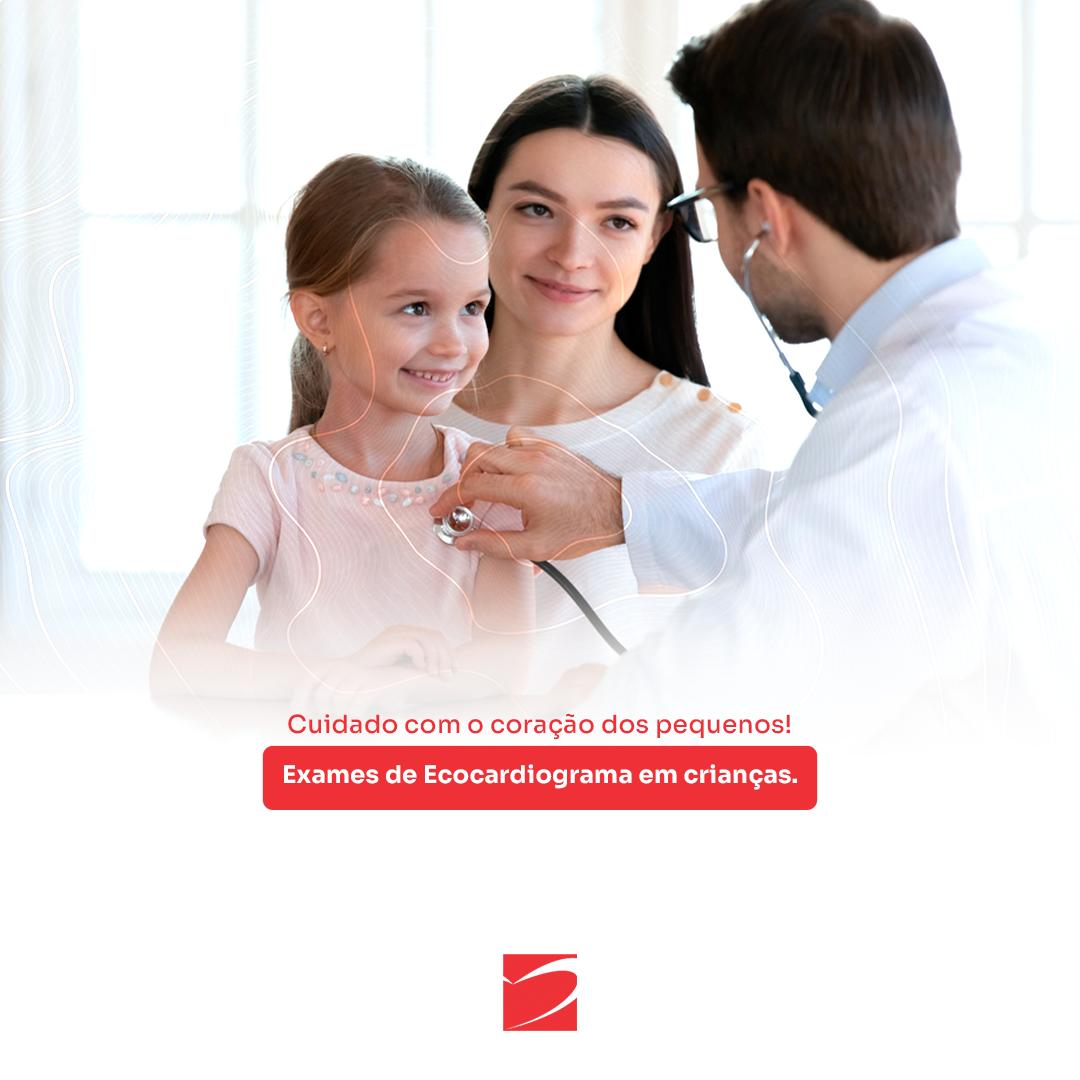 Exames cardiológicos em crianças