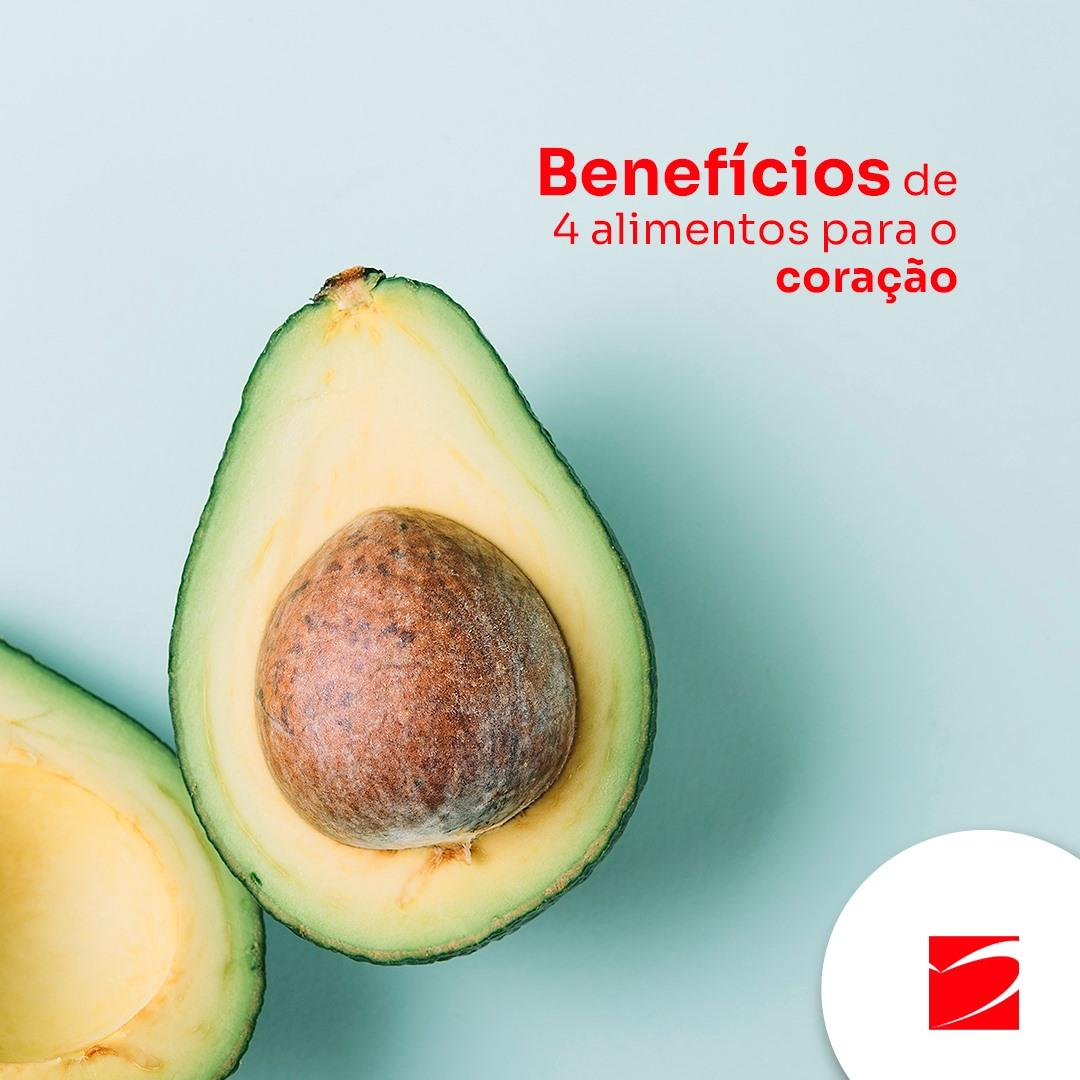 Benefícios de 4 alimentos para o coração