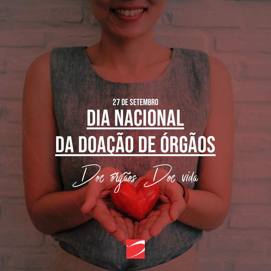 Doe órgãos e salve vida