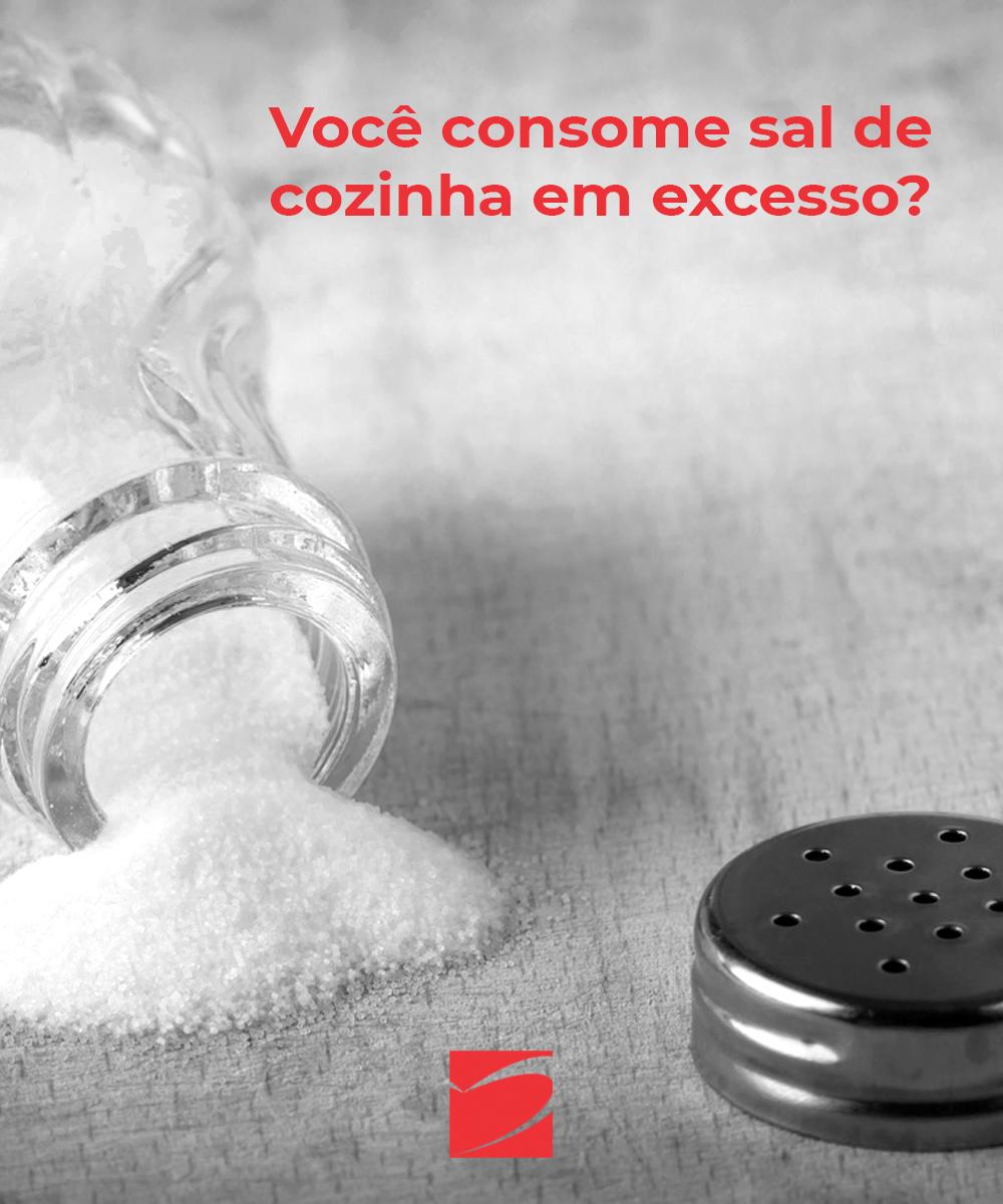 Cuidado com excesso do SAL
